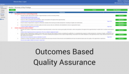 Outcomes Based Quality Assurance