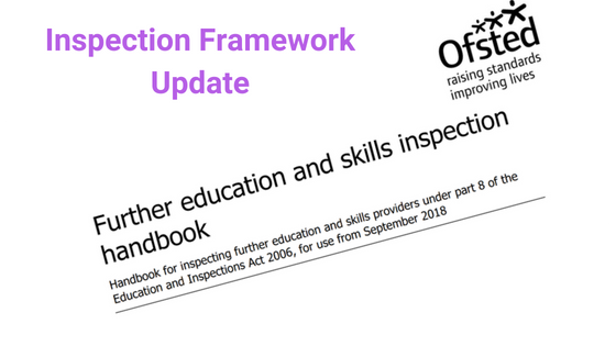 Inspection Framework Update
