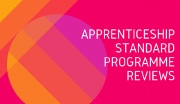Apprenticeship Standard Programme Reviews