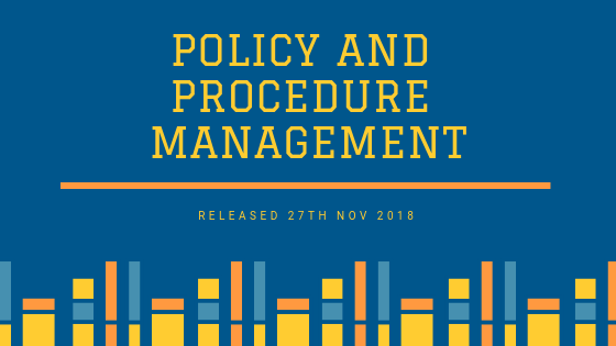 POLICY AND PROCEDURE MANAGEMENT