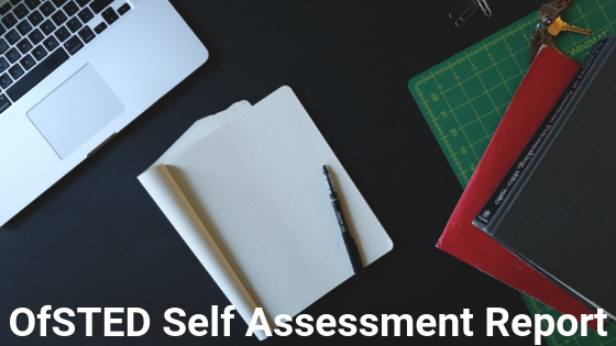 ofsted self assessment report