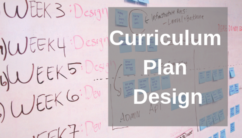 curriculum plan design