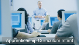 Apprenticeship Curriculum Intent