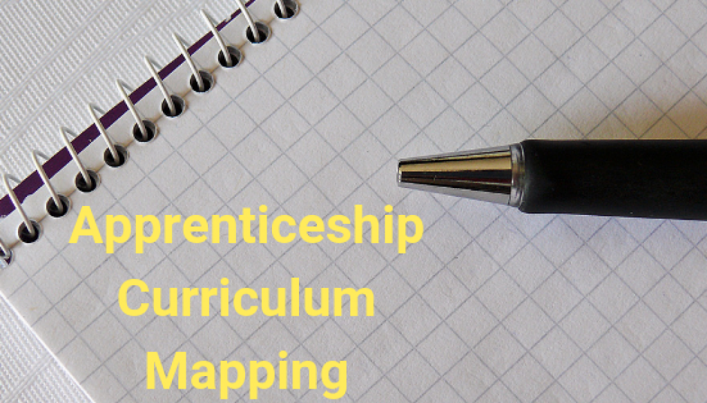 shows an example of a curriculum map