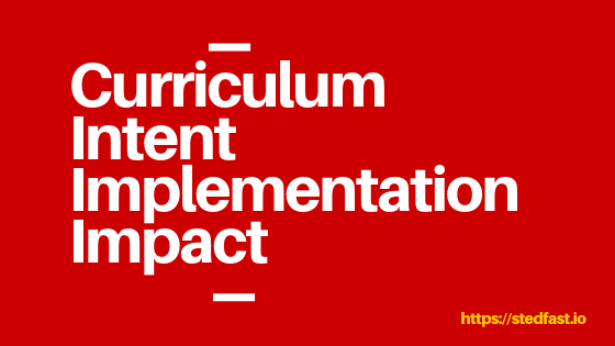 Curriculum Intent Implementation Impact