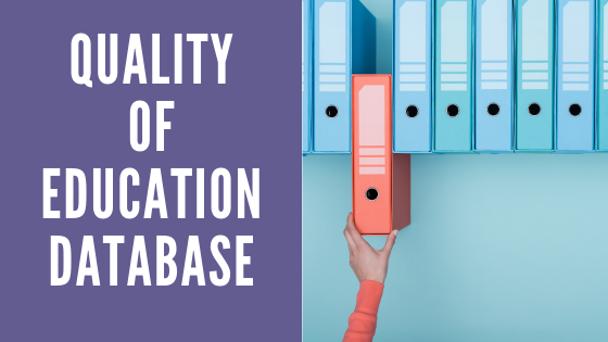QUALITY OF EDUCATION DATABASE