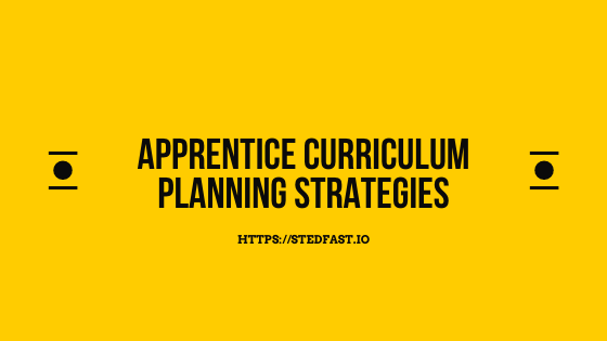 curriculum planning strategy