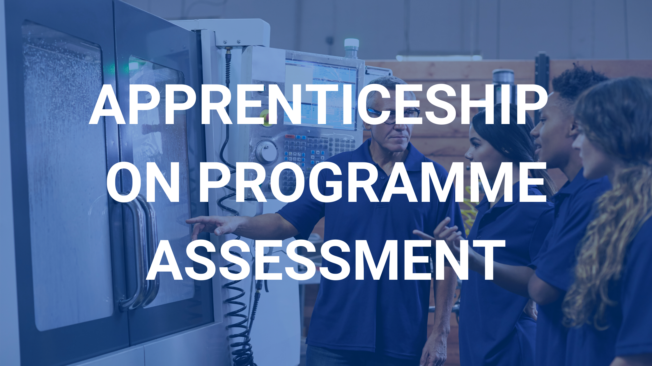 apprenticeship on programme assessment